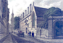 Turl St, Oxford, England 1837