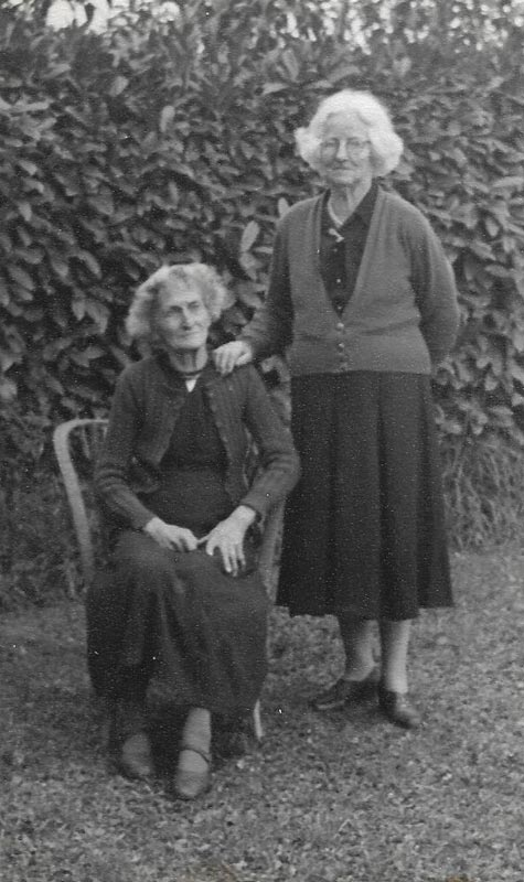 Susan Monk and Mary King
