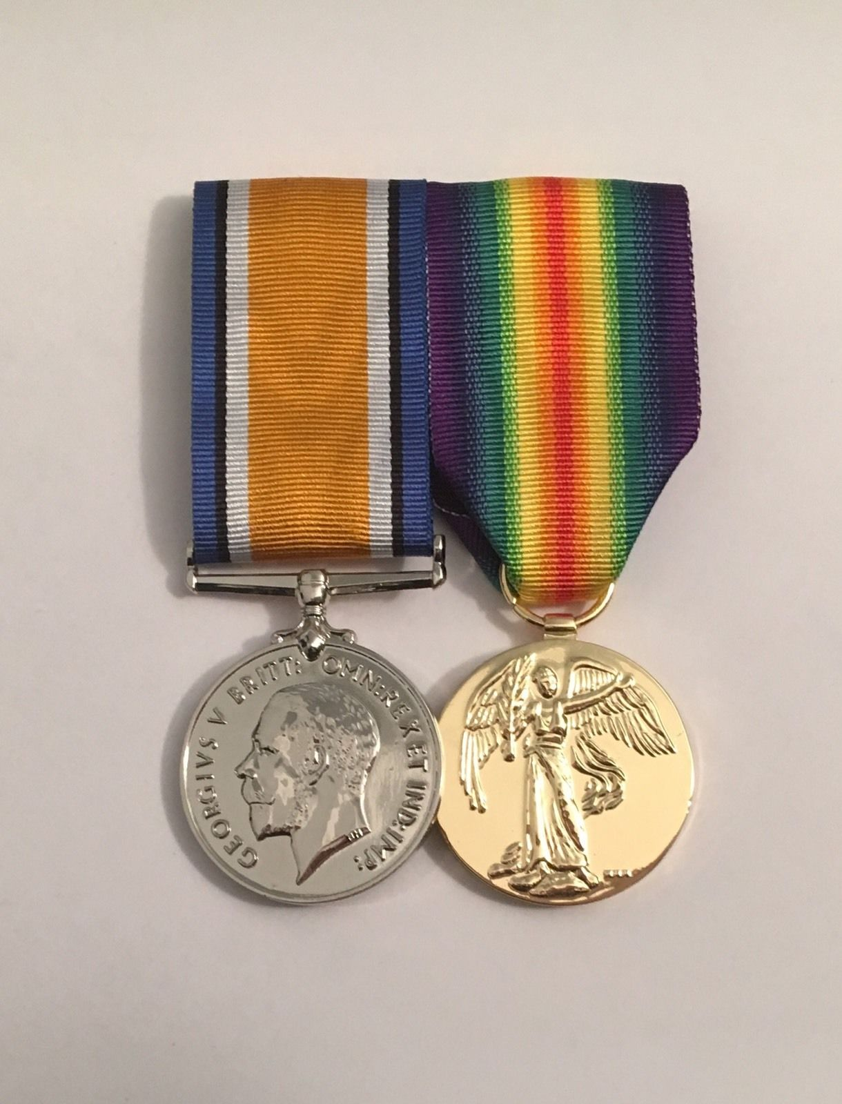 British War Medal and the Victory Medal