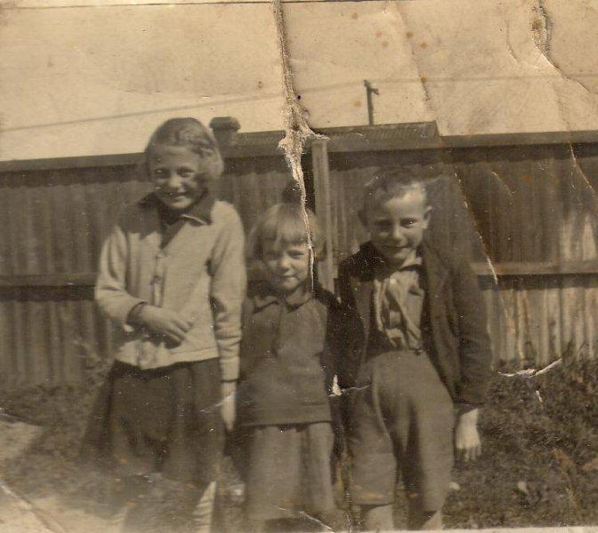 Ethel, Eileen and Jimmy Cleghorn