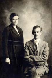 Winifred Pruden and her husband