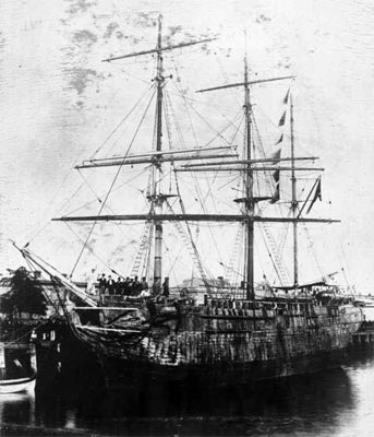 An example of a Convict Ship c1845
