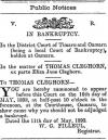 Bankruptcy Notice Oamaru Mail 11 MAY 1893
