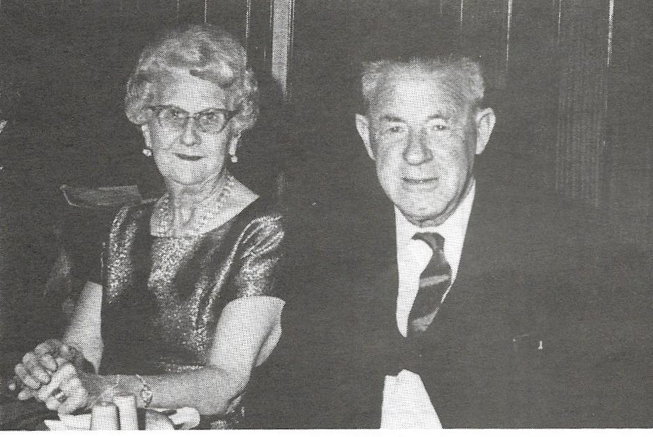 Doris and Ernest Cleghorn