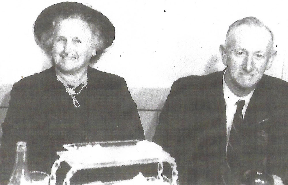 Albert Arnold Fisher and Elizabeth Norah Fisher