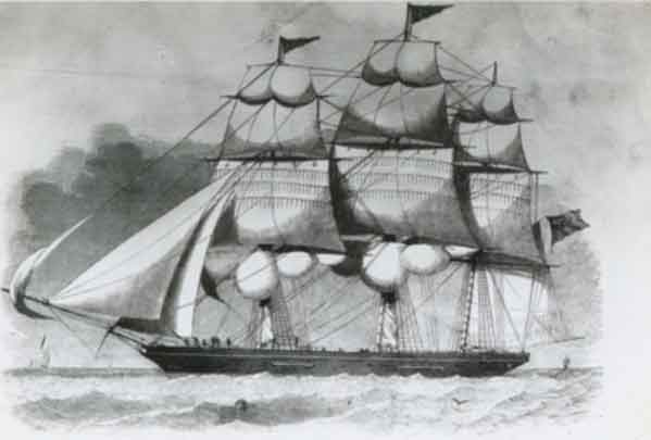 Wooden Clipper 'Chrysolite'